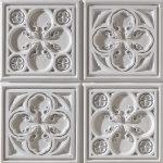 PR-1001 Alhambra weiss veraltet Vintage Panel Piedra