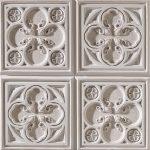 PR-1003 Alhambra braun lasiert Vintage Panel Piedra