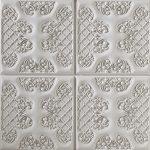 PR-1010 Ashford italienisches weiss Vintage Panel Piedra