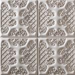 PR-1011 Ashford weiss veraltet Vintage Panel Piedra