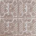 PR-1013 Ashford braun lasiert Vintage Panel Piedra