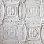 PR-1040 Chantilly italienisches weiss Vintage Panel Piedra