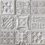 PR-1060 Versalles italienisches weiss Vintage Panel Piedra