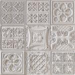 PR-1062 Versalles ocker lasiert Vintage Panel Piedra