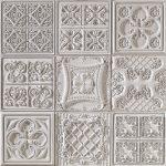 PR-1063 Versalles braun lasiert Vintage Panel Piedra