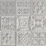 PR-1064 Versalles grau lasiert Vintage Panel Piedra