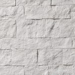 PR-28 Sillarejos italienisches weiss Piedra Panel