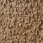 PR-300 Cubic ocker Piedra Panel Design