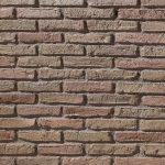 PR-560 ladrillo adobe – dunkle Fugen Piedra Panel